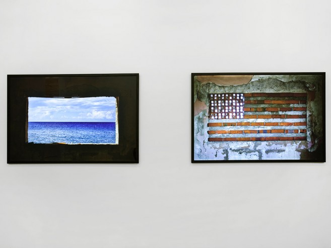 In and Out, Before and After, 2010 / 2 Light boxes (Diptych) / 100 x 150 x 5 cm each one
