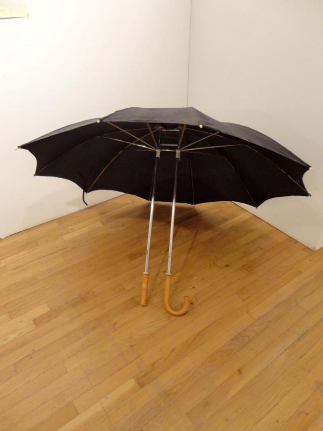 Romance, 2006 / Metal, wood and fabric / Variable dimensions