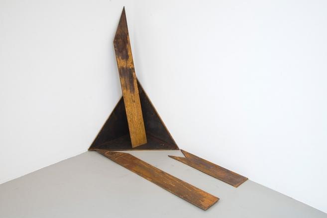 Sacra Geometría (perdiendo identidad), 2015 / Acero / Dimensión variable