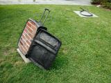 Nostalgia, 2013 / Bronce, ladrillos y cemento / 85 x 54 x 35 cm / LongHose Reserve, East Hampton, NY, USA
