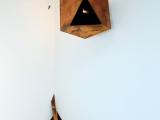 Vista de la exposición / Sacra Geometría (buscando identidad) y Sacra Geometría (perdiendo identidad) , 2015