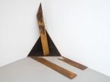 Sacra Geometría (perdiendo identidad), 2015 / Acero / Dimensiones variables