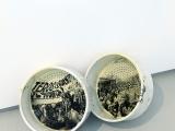 Laboratorio (embudo), 2012 / Impresión plata gelatina sobre un par de urinarios de porcelana